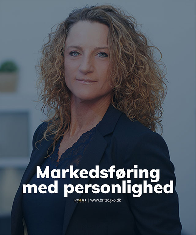 Marketing - online markedsføring. Lej en marketingchef