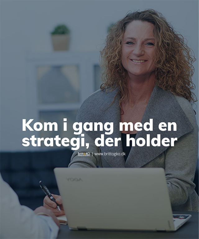 Markedsføring - en marketing strategi der holder